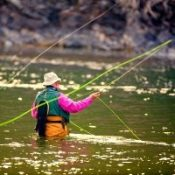 Clark Fork River Fly Fisherman